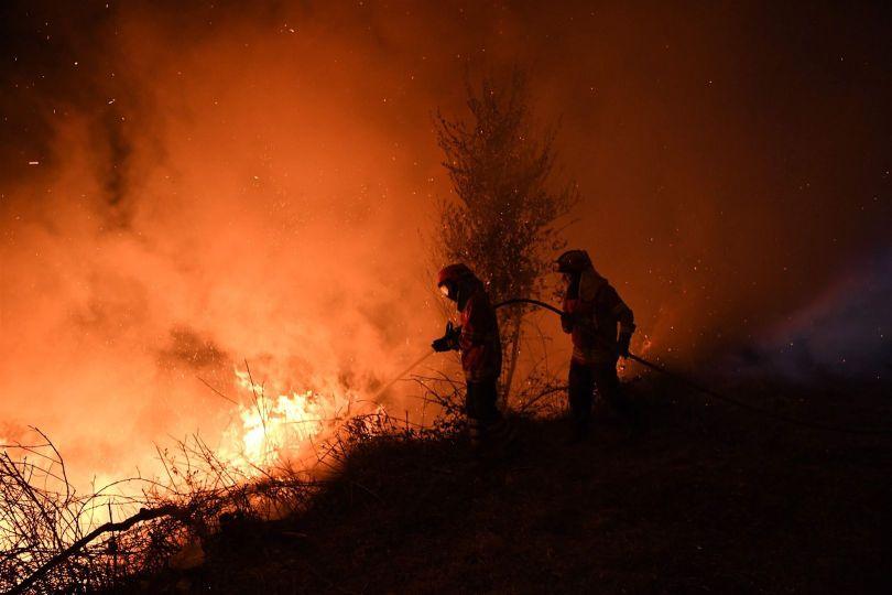 Pompiers - Feu de forêt