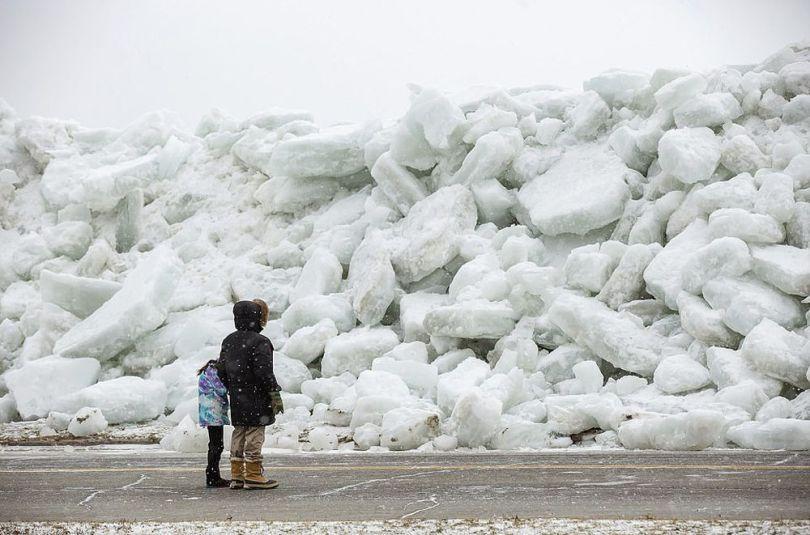 Tsunami de glace – Amérique - 1