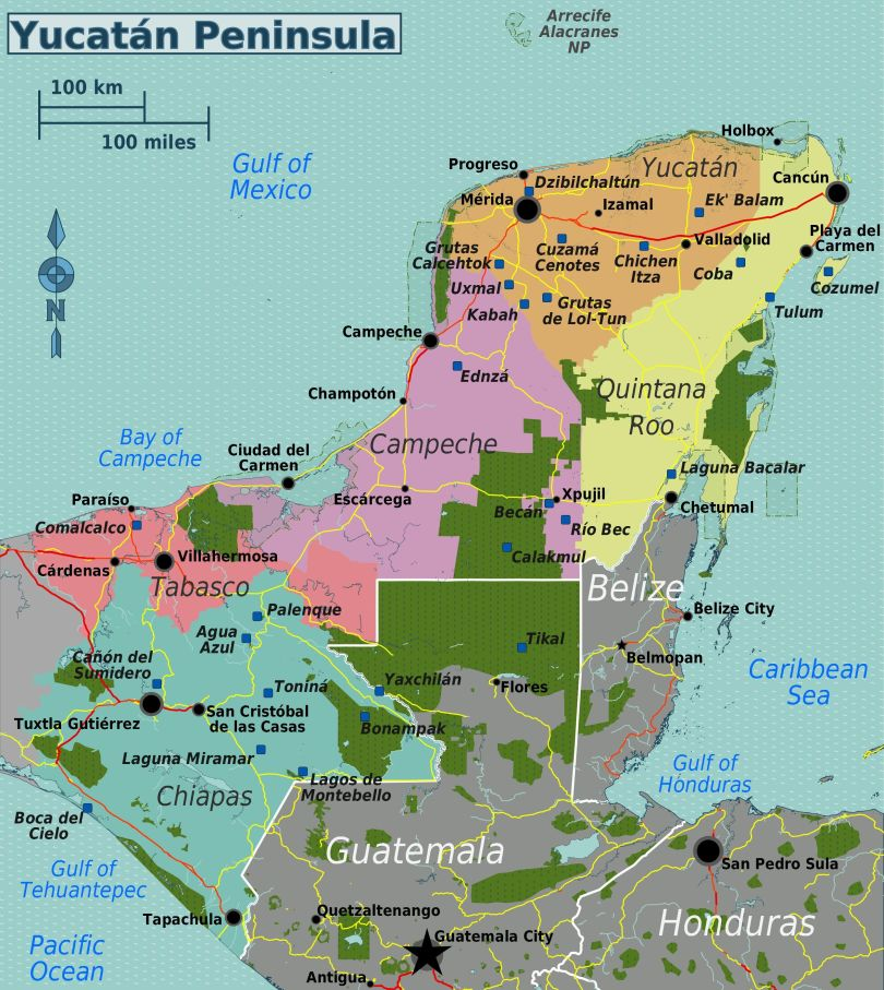 Yucatán_Peninsula_map