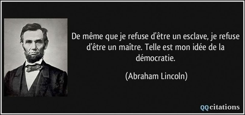 Abraham Lincoln - Citation