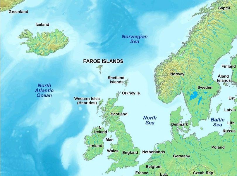 Îles Féroé - MAP