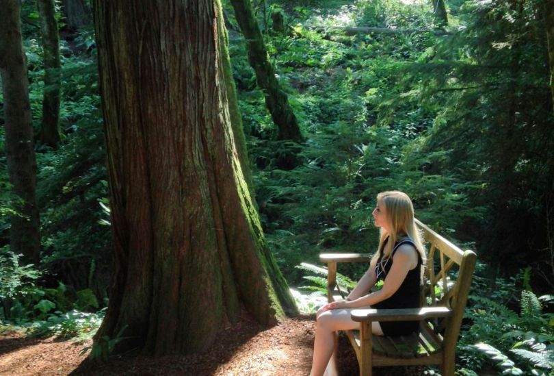 Femme - Forêt