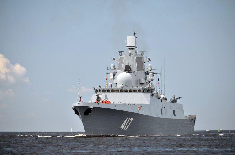 Frégate – Destroyer – Russe - Admiral Gorshkov - 2