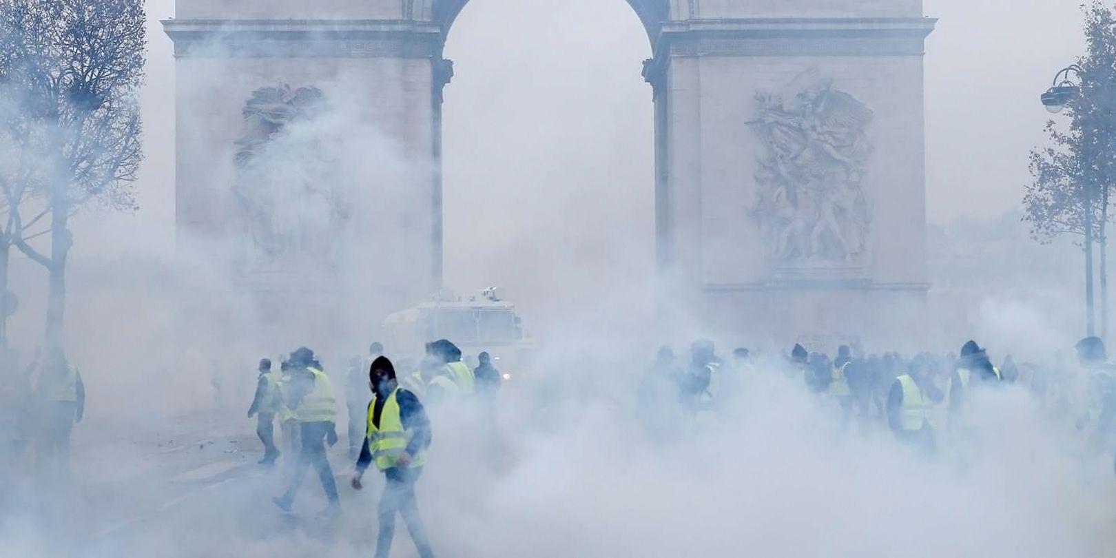 Gilets Jaunes : le gouvernement utilise des marqueurs chimiques et des nanoparticules sur les manifestants [Vidéos]