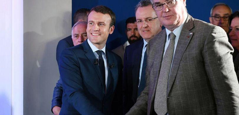 Jean-Paul Delevoye – Emmanuel Macron