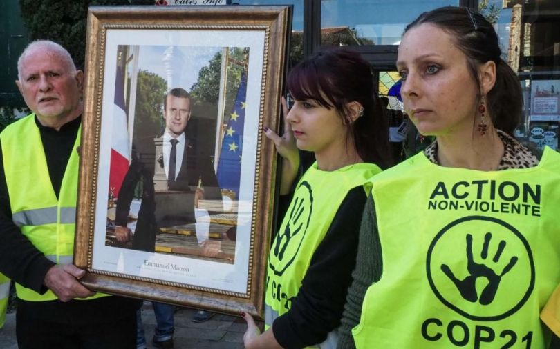Portrait Emmanuel Macron - 2