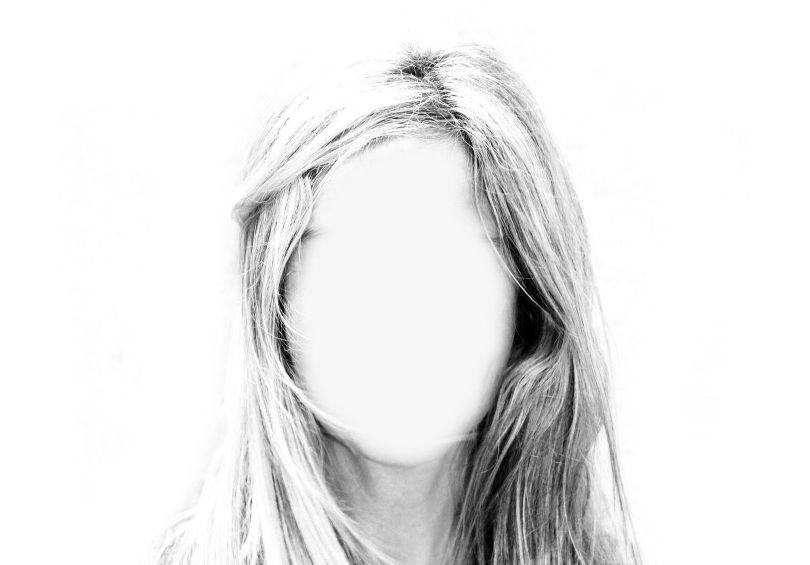 Visage - Femme - Invisible