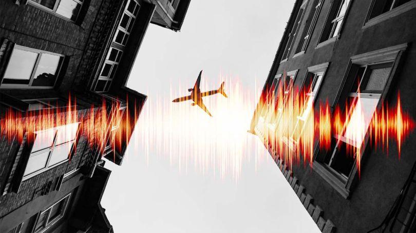 Avion - Onde sonore