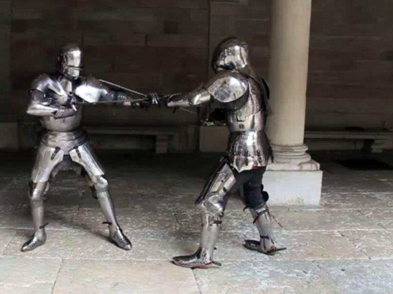 Combat armure - 4