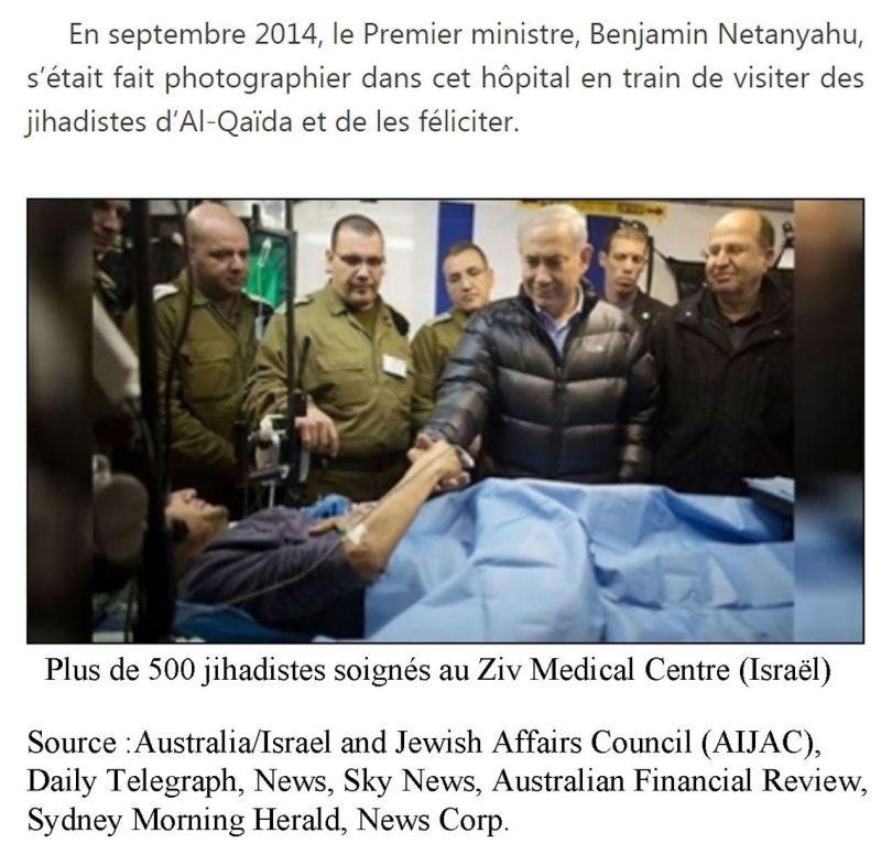 Jihadistes soignés au Ziv Medical Centre (Israël - 2014)