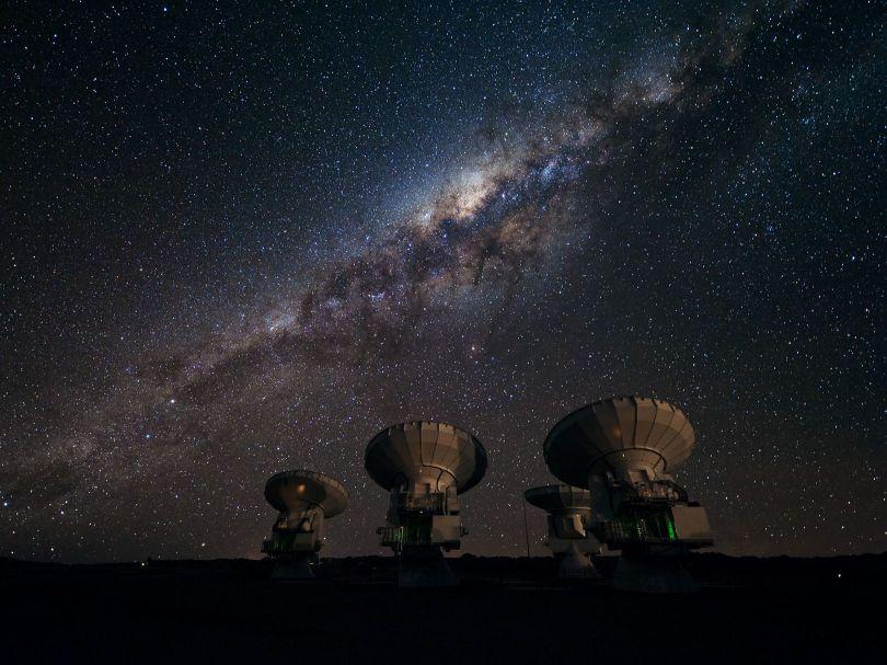Radiotelescope - ALMA