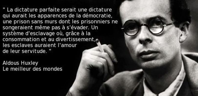 Aldous Huxley – Citation - 1