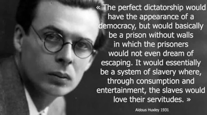 Aldous Huxley – Citation - 2