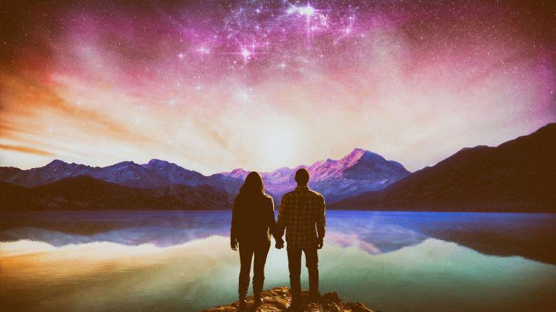 Couple - Paysage surréaliste