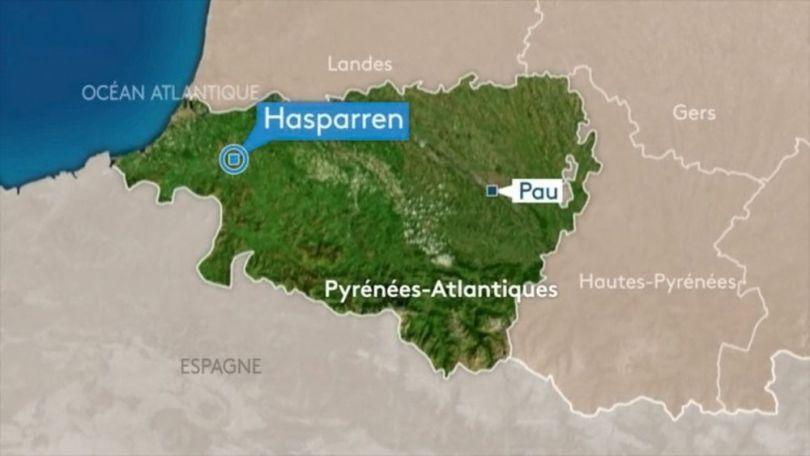 Hasparren - Map
