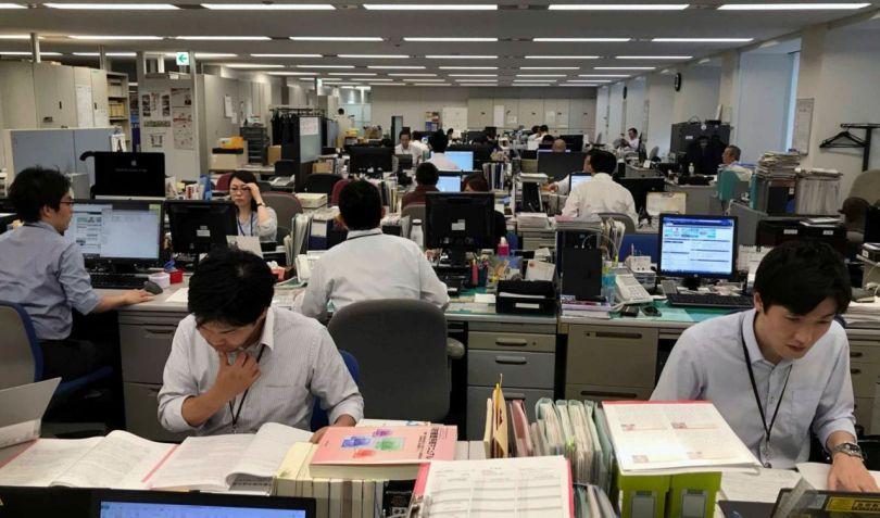 Japonais – Employé – Bureau - 2