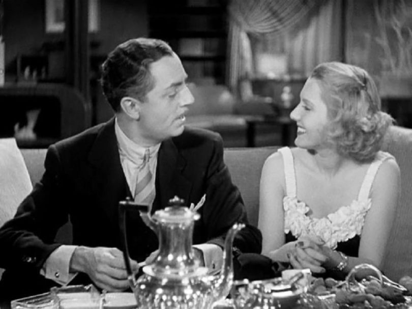 Jean Arthur et William Powell