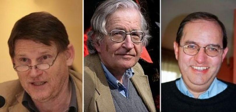 Jean Bricmont - Noam Chomsky - Michel Collon