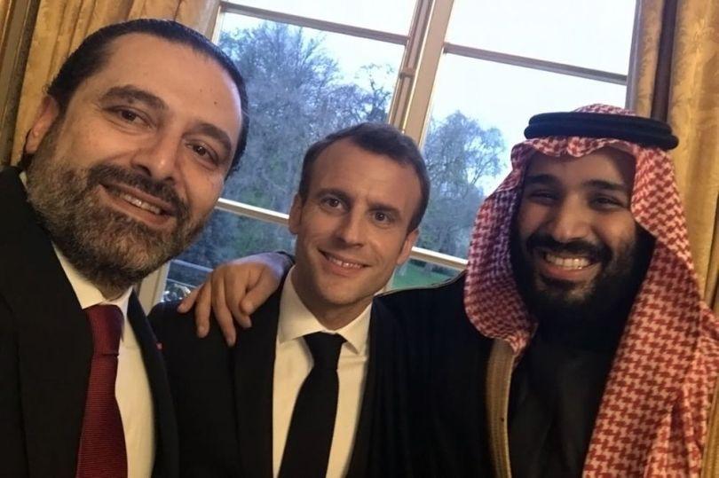 Macron et Mohammed Ben Salmane