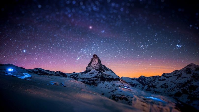 Montagne - Ciel