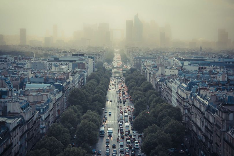 Paris - Pollution
