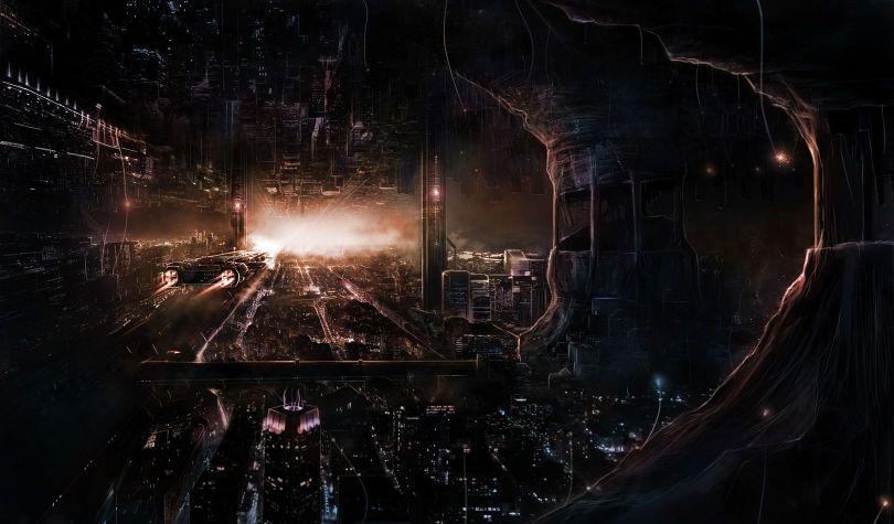 Ville souterraine - 1