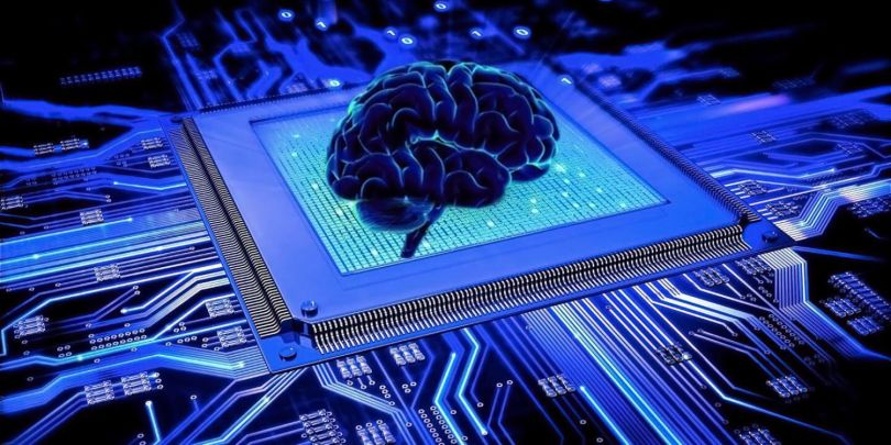 Cerveau - Puce électronique