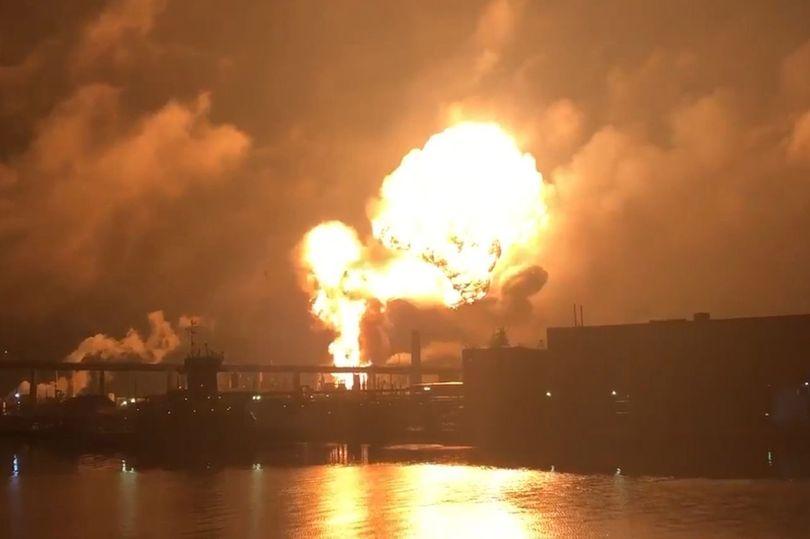 Raffinerie – Explosion – Philadelphie - 2