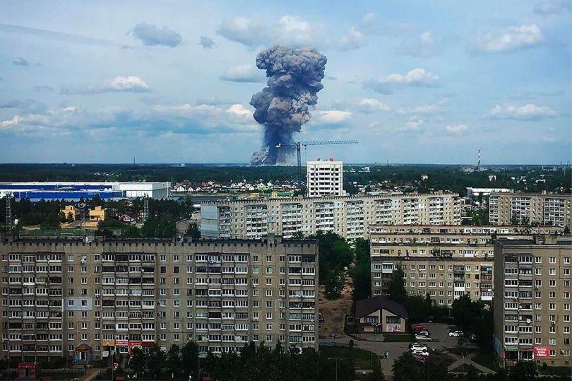 Russie – Explosion - 1