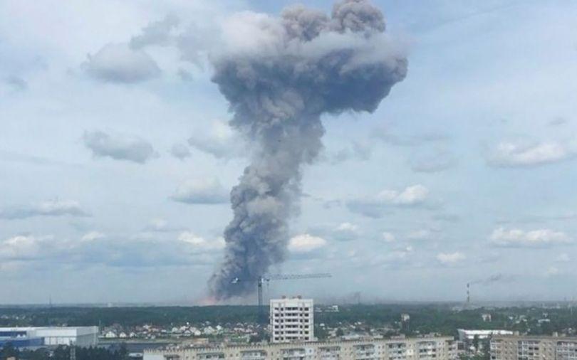 Russie – Explosion - 2