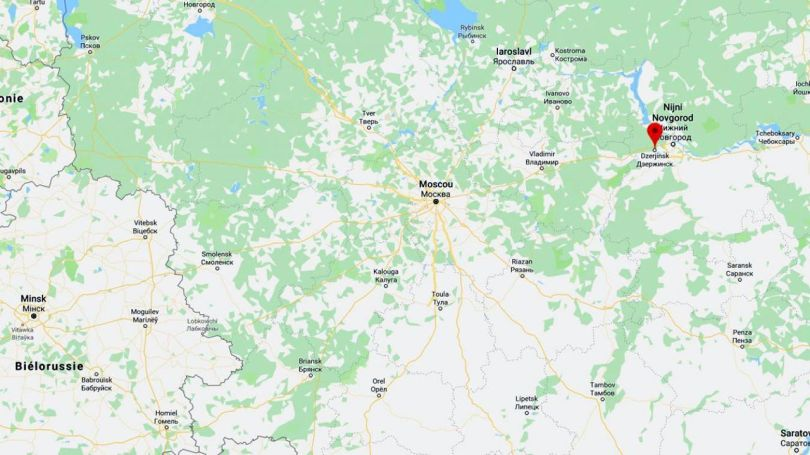 Russie - Map
