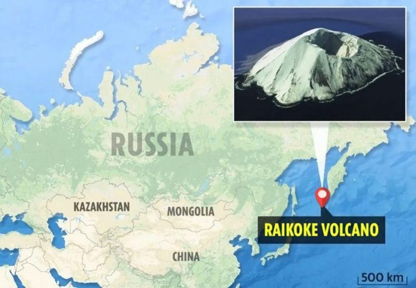 Volcan Raikoke - 1