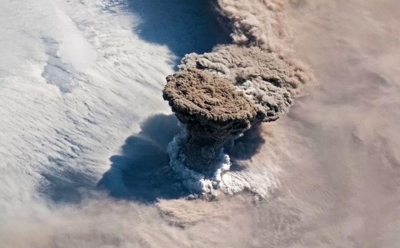 Volcan Raikoke - 2