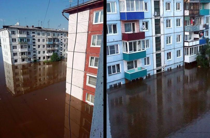 Sibérie - Inondation - 1