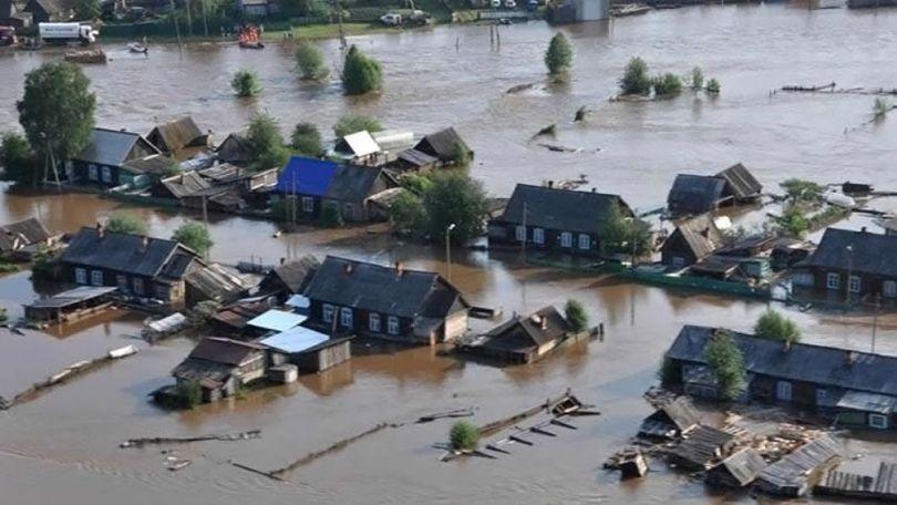 Sibérie - Inondation - 4