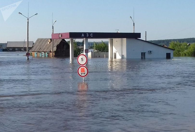 Sibérie - Inondation - 6