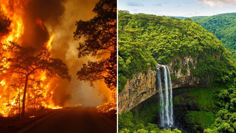 Amazonie - Incendie - 1