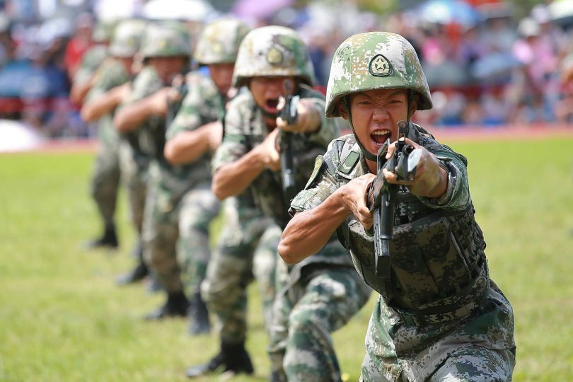 Soldats chinois - 2