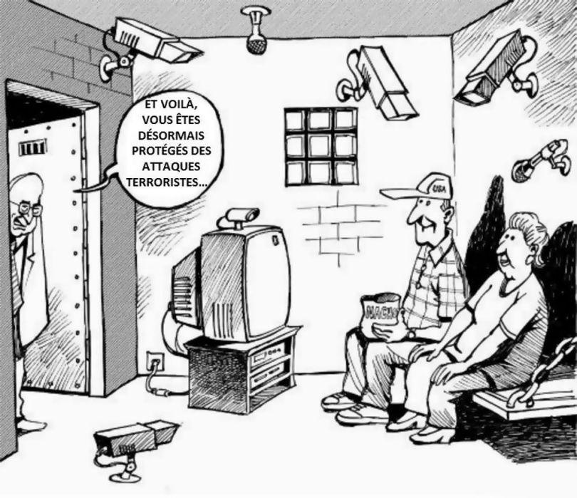 Terrorisme – Liberté - Prison