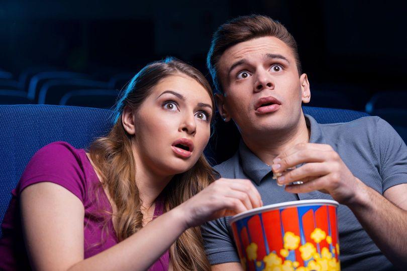 Couple - Cinéma - Peur