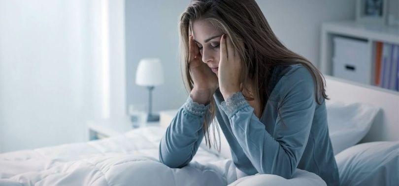 Femme - insomnie