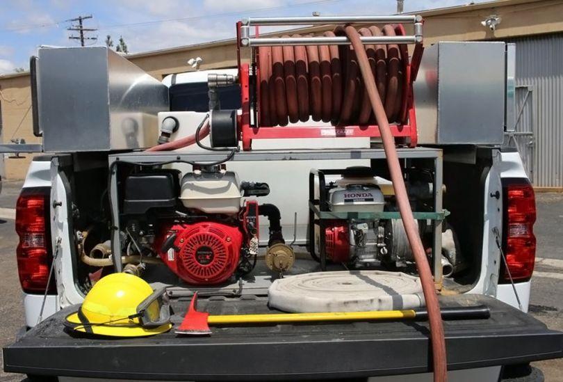 Pompiers privés – Californie - 2