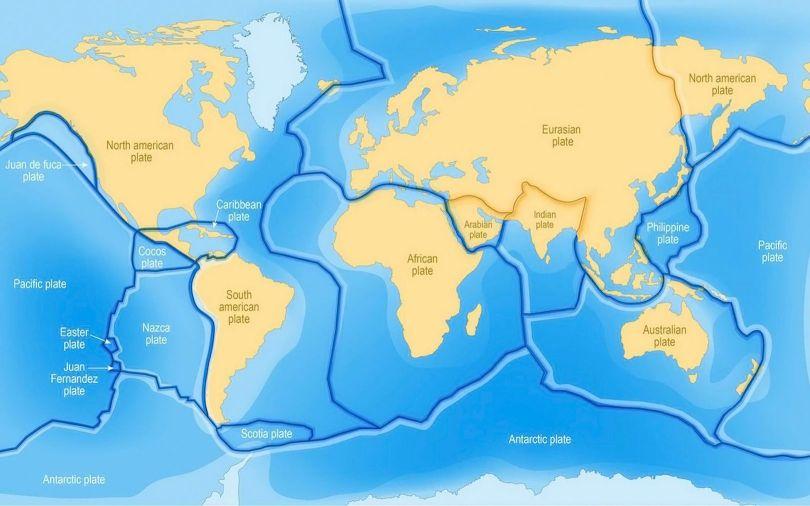 Tectonique des plaques - 1