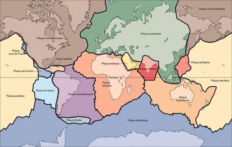 Tectonique des plaques - 3
