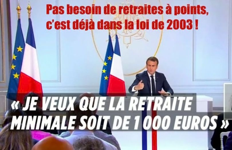 Macron - Retraite