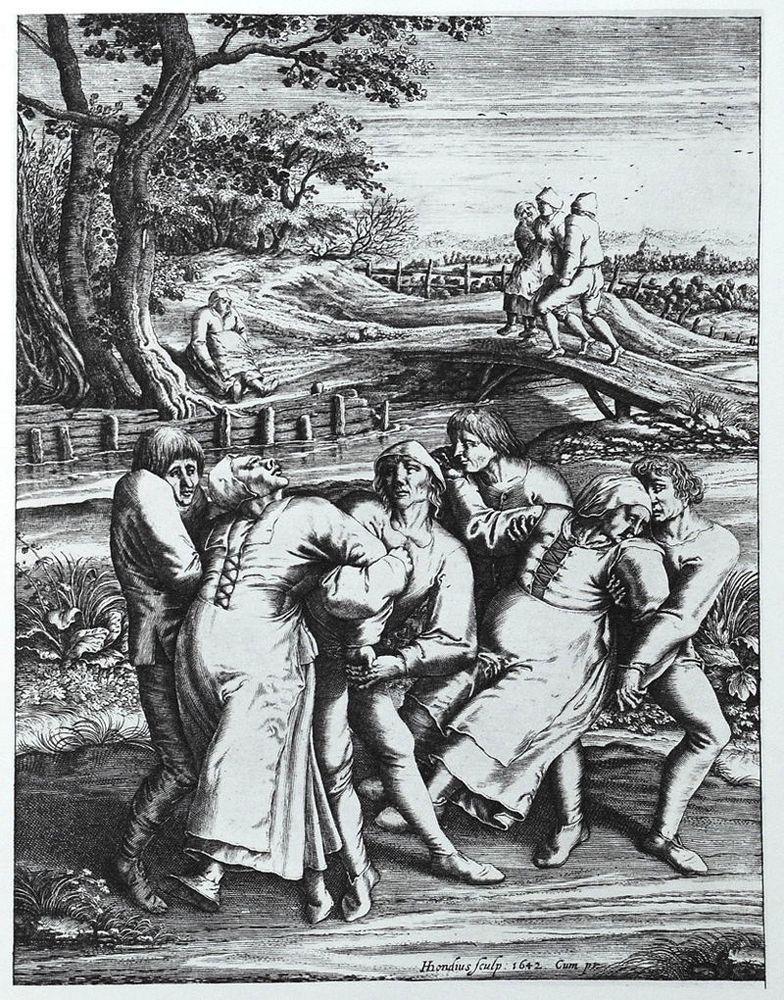 Épidémie dansante de 1518 - 1