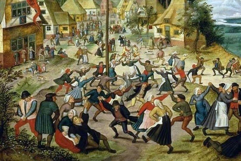 Épidémie dansante de 1518 - 2