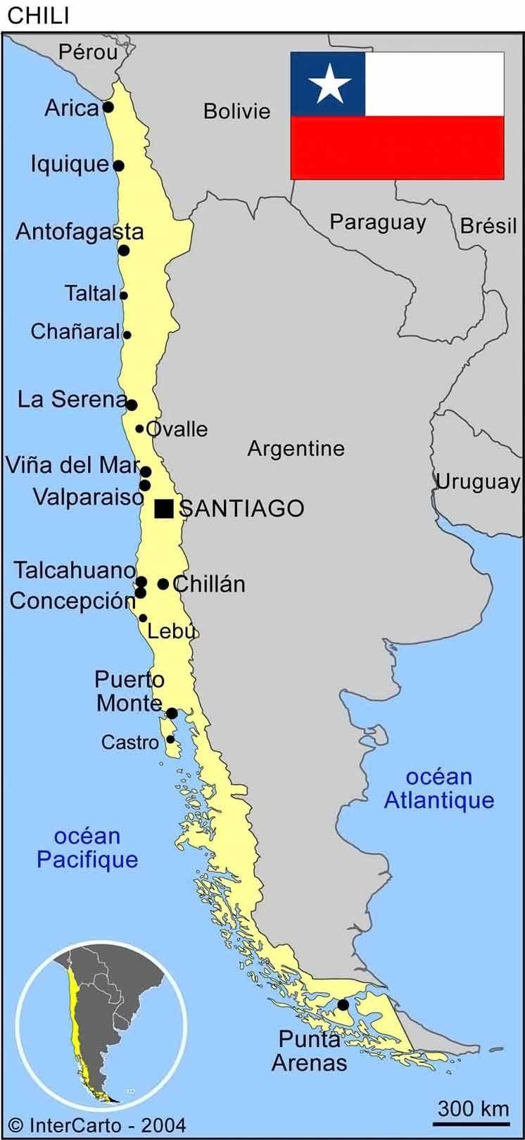 Chili - Map