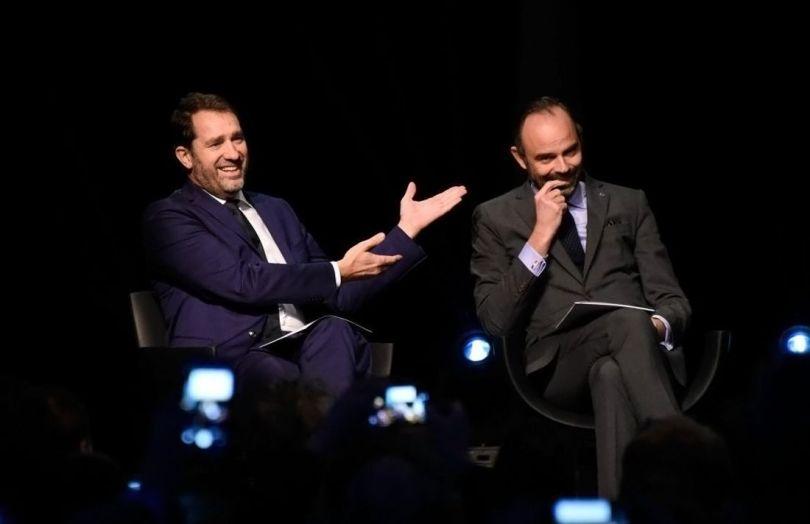 Christophe Castaner et Édouard Philippe