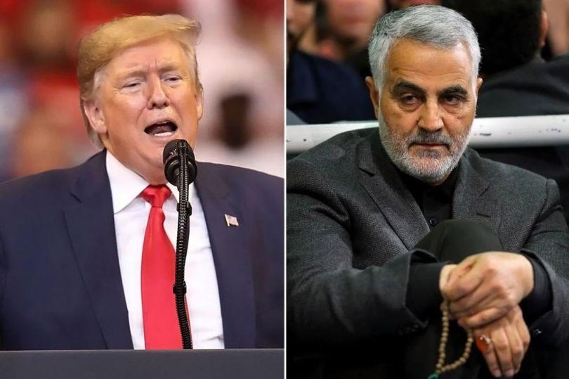 Donald Trump et Qassem Soleimani